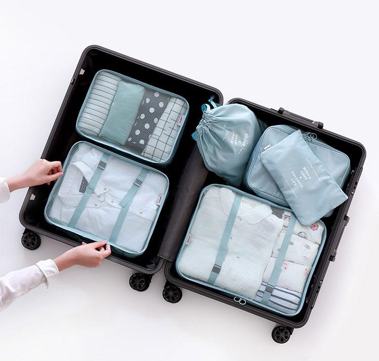 วิธีจัดกระเป๋าเดินทาง